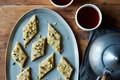 Andrea Nguyen's cashew and cardamom fudge (Kaju barfi)