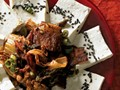 Andrea Nguyen's tofu with kimchi and pork belly (Cook the Book)