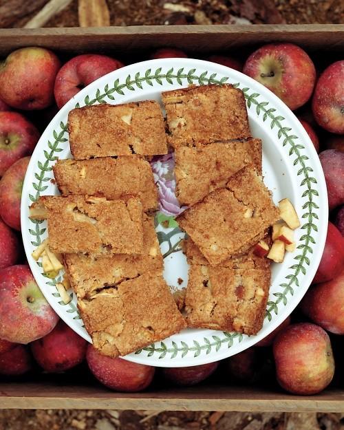 Apple brownies (page 167)