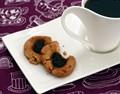 Apple butter-peanut butter thumbprint cookies