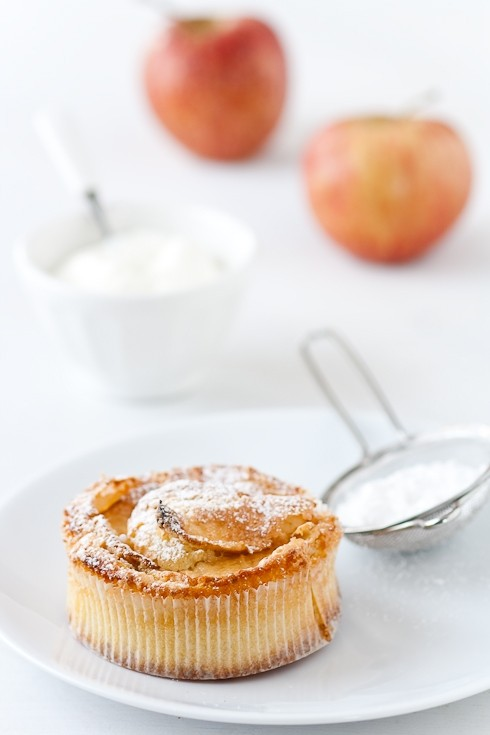 Apple Frangipane Tartelettes With Cheesecake Ice Cream ...