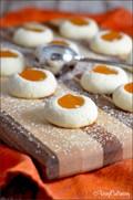 Apricot almond thumbprints