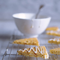 Apricot and ginger tree biscuits