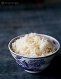 Aromatic coconut rice