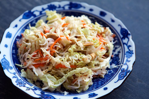 Asian coleslaw from Simply Recipes by Elise Bauer