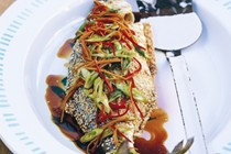 Asian-style oven-baked fish
