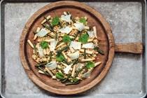 Asparagus and barley