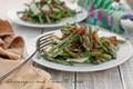 Asparagus and prosciutto salad w/ lemon vinaigrette