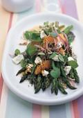 Asparagus orange salad
