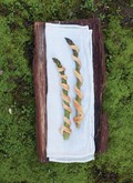 Asparagus pastry straws