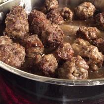 Aunt Marie's Swedishmeatballs