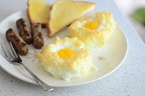 Baked egg clouds