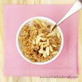 Baked quinoa porridge