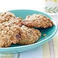Banana-oatmeal chocolate chip cookies