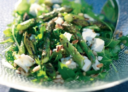 Goat Cheese And Asparagus Macaroni Salad Recipes — Dishmaps