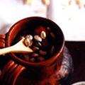 Beans in a flask (Fagioli al fiasco)