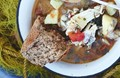 Beautiful fish stew (Aegean kakavia)