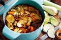 Beef and root veg hotpot
