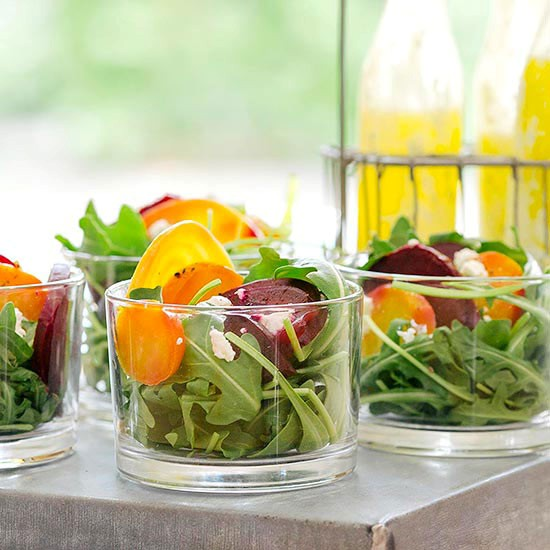 Beet and goat cheese salad (page 184)