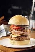 Big Aussie beef burger
