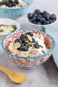 Bircher muesli with carrot