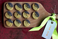 Blue-cheese poppy-seed biscuits
