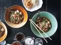 Boat noodles (Guay tiaw rua)