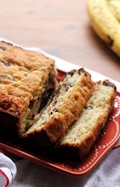 Bourbon chocolate chip banana bread