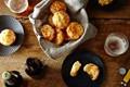 Brazilian cheesy bread (Pão de queijo)