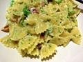 Broccoli and baconcarbonara