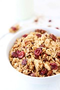 Brown butter maple granola