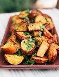 Bryant Terry's fresh herb roasted potatoes