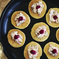 Beet Blinis With Salmon Marinated In Star Anise Syrup From 'Home Made ...