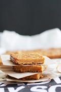 Burnt butter caramel slice
