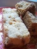 Butter-toffee crunch shortbreadcookies