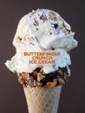 Butterfinger crunch ice cream