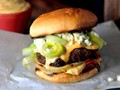 Cajun burgers with spicy remoulade
