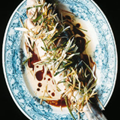 Cantonese steamed sea bass (Qing zheng lu yu)