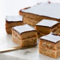 Caramel & ginger slice