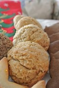 Cardamom ginger coconut cookies