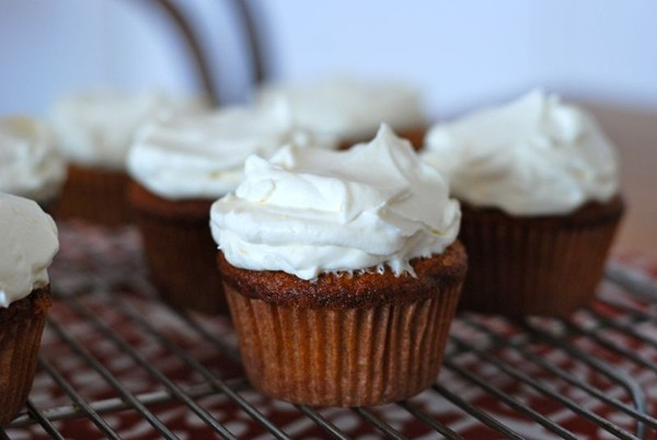 Carrot Cupcakes With Mascarpone Icing Recipes — Dishmaps