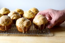 Carrot tahini muffins