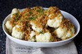 Cauliflower with brown butter crumbs