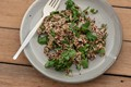 Cheesey quinoa