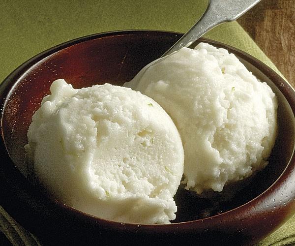 Cherimoya-lime sorbet recipe | Eat Your Books