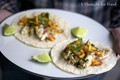 Chermoula fish tacos with mango salsa