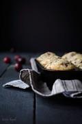 Cherry vanilla muffins