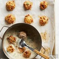 Chicken meatballs with sun-dried tomatoes