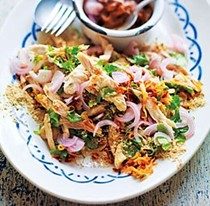 Chicken salad, Burma style