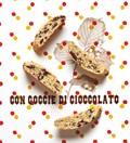 Chocolat studded biscotti